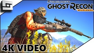 Ghost Recon Wildlands - OPEN WORLD ADVENTURE! - 4k Multiplayer Gameplay