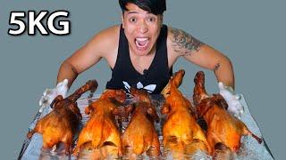 NTN - Thử Thách Ăn Hết 5 Con Vịt Quay 5KG (Eat 5 Roasted Duck/5KG Each/ Challenge)