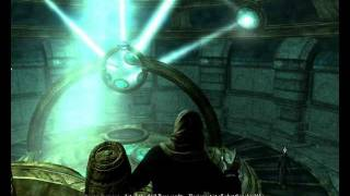 Skyrim Focus Crystal Puzzle Solution Revealing the Unseen video tutorial walkthrough