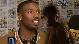 Michael B. Jordan Worked on this Body Part For Over a Year for