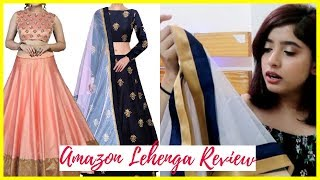 Amazon Lehenga Review | Bridal & Wedding Lehenga Under  ₹1000 | Anindita Chakravarty