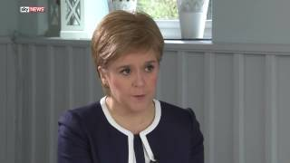 Nicola Sturgeon: Scotland will keep the pound and apply for full EU membership