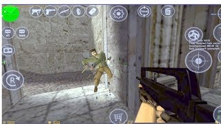 Counter-Strike 1.6 ( Xash 3D - CS16Client ) Gameplay on PC Android Emulator Mobile - HD not stable