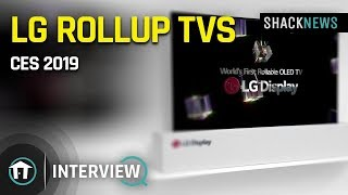 LG Rollup TVs