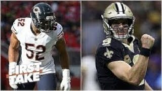 Bears can go to New Orleans and beat Saints in playoffs   Louis Riddick  First Take