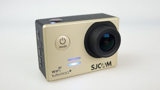 The BIG SJ5000+ Plus Action Camera REVIEW - Includes sample clips
