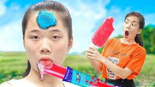Giả Vờ Mộng Du Ăn Vụng Kem ❤ Các Loại Kem Ngon - Trang Vlog