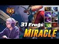 Miracle Phantom Lancer | 31 Frags Battle Cup Game | Dota 2 Pro Gameplay