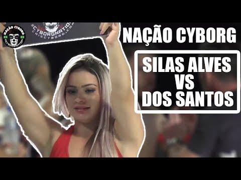 Nação Cyborg Fight Night 1: Colombo Brasil Silas Alves Vs Rangel dos Santos (MMA)