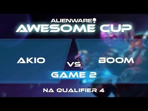 Akio vs BOOM - G2 - AAC2: NA Qualifier 4