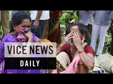 VICE News Daily: Stampede Kills Dozens in India
