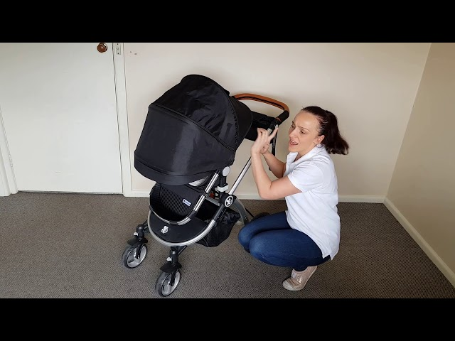 Babybee prams comet plus video