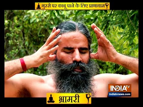 How Yoga helps in anger managment