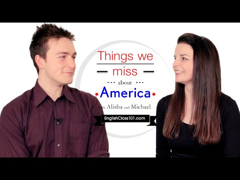 English Topics - Things we miss about...
