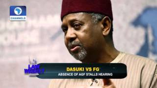 Law Weekly:  Focus On Ending Domestic Violence In Nigeria -- 22/11/15 Pt 1