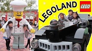 びしょぬれ海ぞく船アトラクション&ドライビングスクール! LEGOLAND