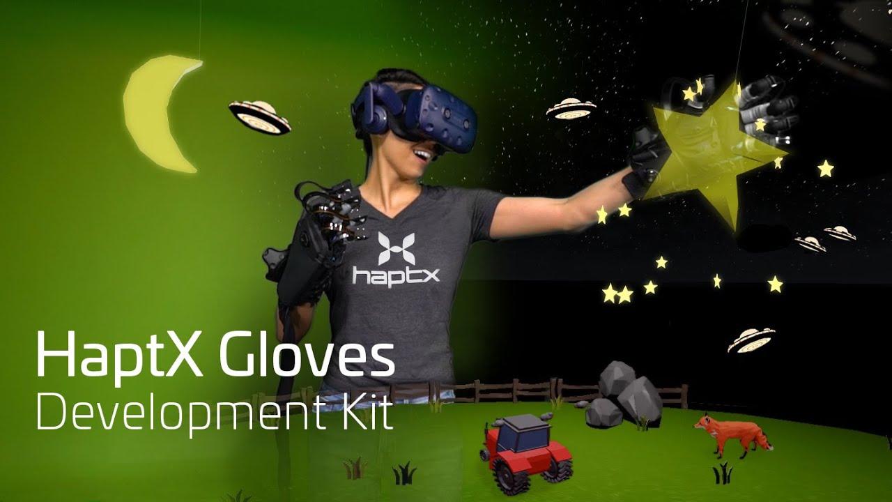 911373fad0d HaptX Gloves Development Kit - Launch Trailer - YouTube