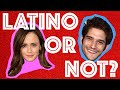 Can You Guess Which Celebrity Is Latino