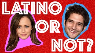 Can You Guess Which Celebrity Is Latino?