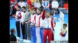 Чемпионат России - брусья - мужчины