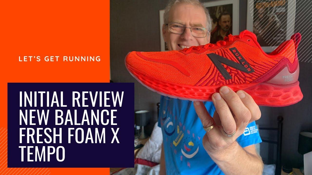 Initial review, New Balance Fresh Foam