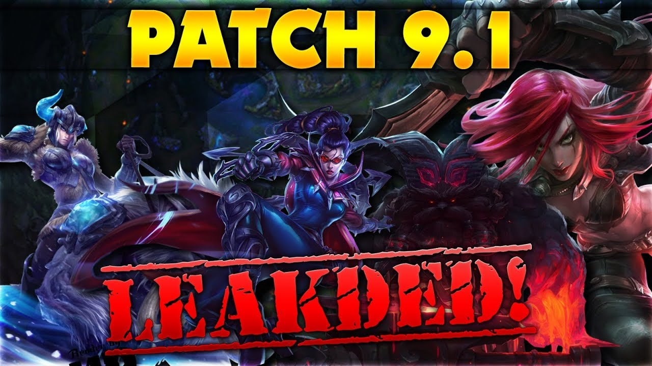 lol patch 9.1 release date