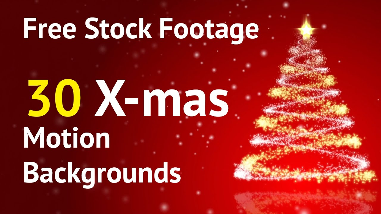 Free Stock Video Download Christmas Motion Backgrounds ...