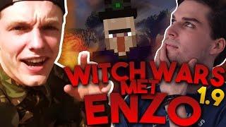 VLIEGEN MET ENZO IN 1.9! - WITCH WARS