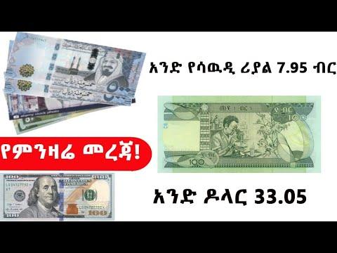 Ethiopia ወቅታዊ የምንዛሬ መረጃ ..የጥቁር ገበያው ቀጣይ ሁኔታ!!Black Market Analysis !!