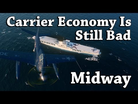 WoWS: Midway - Carrier Economy Is Still Bad [216k DMG]