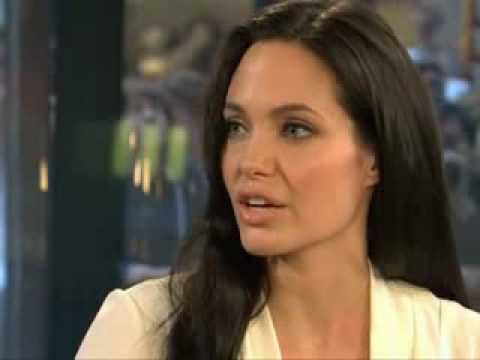 Angelina Jolie Interview on the Today Show Oct 2008 Part 2