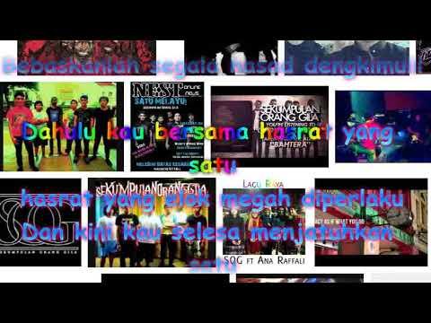 Sekumpulan Orang Gila - SATU MELAYU Karaoke HD