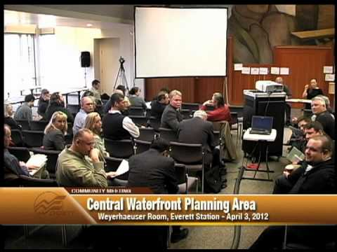 Central Waterfront Planning Area community meeting