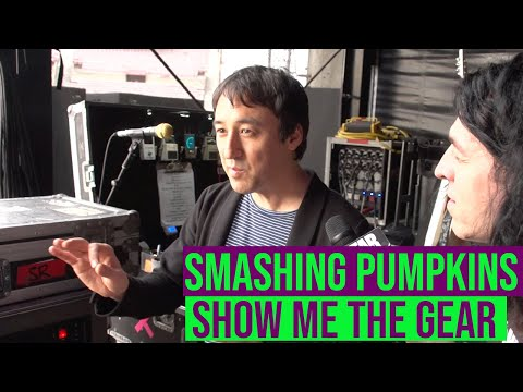 Smashing Pumpkins Jeff Schroeder: Show Me the Gear part1- Effects