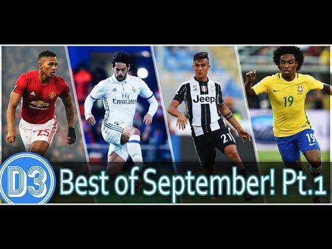 TOP 50 GOLES DEL MES (1/5) | Isco, Willian, Dybala, Valencia y + ★ D3D2