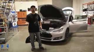 "NVX Sound System Install For Tesla Model S ""D"" (dual motor)"