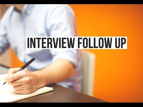 how to follow up after an interview phone call
