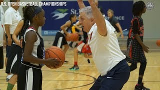 USA BASKETBALL SKILLS CLINIC // U.S. OPEN BASKETBALL CHAMPIONSHIPS