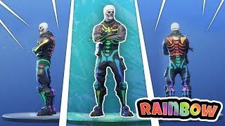 How to get *RAINBOW* Skull Trooper! (Fortnite Mod) Custom Skin
