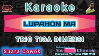 KARAOKE LUPAHON MA ( TUNG SO HU RIPPU DO )  || TIGA DIMENSI