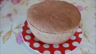 Домашний хлеб с гречневой крупой.