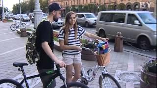 CTV.BY: Уличная мода: Цвет мокрого асфальта и стиль для велопрогулок