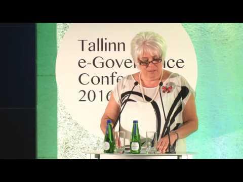 Marina Kaljurand. Minister of Foreign Affairs of Estonia