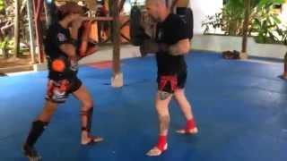 Тренировка с мастером Ламом • работа на падах_SBadyuk