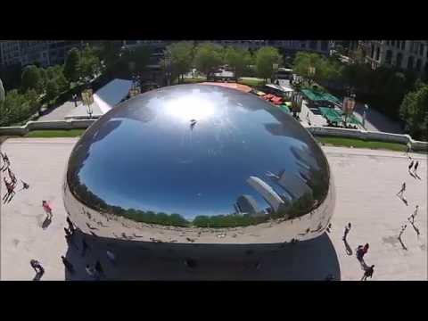 FREE Jelly Bean Drone Tour  - Millennium Park & Buckingham Fountain - Chicago DJI Chitown