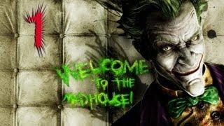 Batman Arkham Asylum Прохождение Часть 1