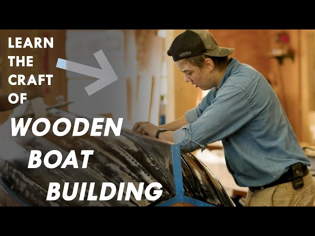 Wooden Boat Building - Great Lakes Now - Episode 1029 - Segment 1