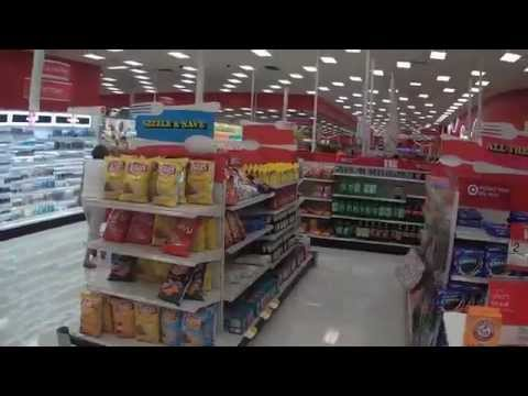 Shopping Inside a Target Store - Fort Myers, Florida