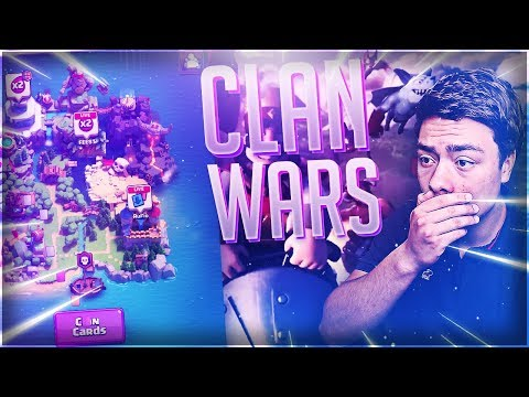 EERSTE CLAN WARS OOIT STARTEN!! - BESTE CLASH ROYALE UPDATE EVER!