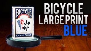 Deck Review - Bicycle Large Print Bridge Size Playing Cards